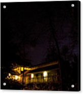 Big Dipper Over Hike Inn Acrylic Print