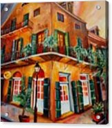 Big Easy Sunset Acrylic Print