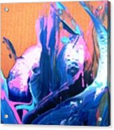 Big Fish Hanging Out In Fantasy Undersea Garden Acrylic Print