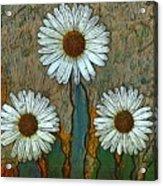 Big Flowers Acrylic Print
