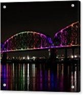 Big Four Bridge 2219 Acrylic Print
