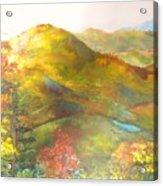 Big Hill Vista Acrylic Print