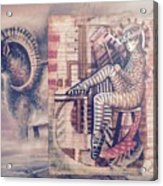 Big Horn Dancer Acrylic Print