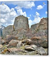 Big Horn Mountains In Wyoming Acrylic Print