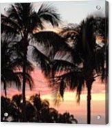 Big Island Sunset 1 Acrylic Print