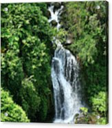 Big Island Waterfall Acrylic Print