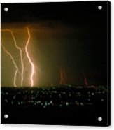 Big Lightning Acrylic Print