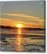Big Marsh Sunset 4 Acrylic Print