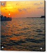 Big Pass Sunset Sarasota Florida Acrylic Print