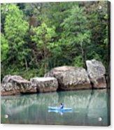 Big Piney Creek 1 Acrylic Print by Marty Koch