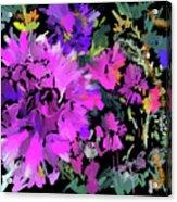 Big Pink Flower Acrylic Print