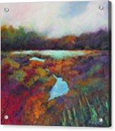 Big Pond In Fall Mc Cormick Woods Acrylic Print