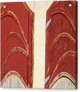 Big Red Doors Acrylic Print