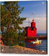 Big Red Lighthouse Acrylic Print