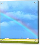 Big Rig Rainbow Acrylic Print