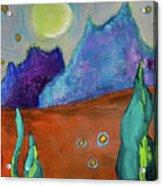 Big Rock Candy Mountain Acrylic Print