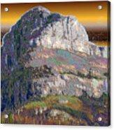 Big Rock Acrylic Print