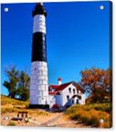 Big Sable Point Lighthouse Acrylic Print