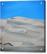 Big Sand Dunes In Ca Acrylic Print