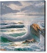 Big Seastorm - Italy Acrylic Print