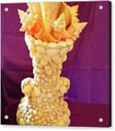 Big Shell Vase Acrylic Print by Arlin Jules