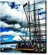 Big Ships Acrylic Print