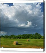 Big Sky-brief Shower Acrylic Print