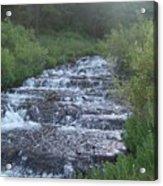 Big Springs Waterfall Acrylic Print