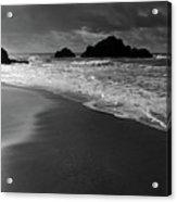 Big Sur Black And White Acrylic Print