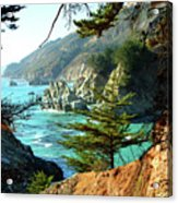 Big Sur Vista Acrylic Print by Charlene Mitchell
