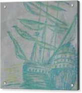 Big Tall Sail Acrylic Print