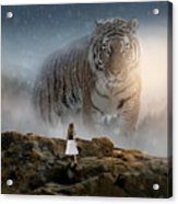 Big Tiger Acrylic Print