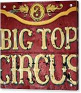 Big Top Circus Acrylic Print