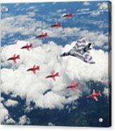 Big V Formation Acrylic Print