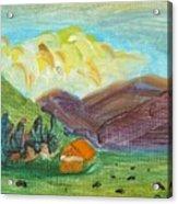 Big Valley Acrylic Print