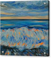 Big Wave After Storm Acrylic Print