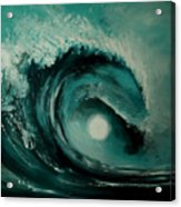 Big Wave Acrylic Print