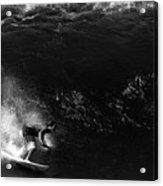 Big Wave Surfing Acrylic Print
