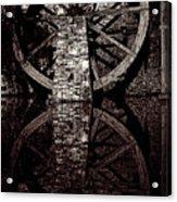 Big Wheel In Bw Acrylic Print