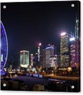 Big Wheel In Hong Kong Central Acrylic Print