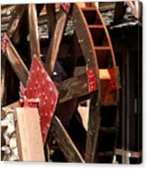 Big Wheels Keep On Turning Acrylic Print by LeeAnn McLaneGoetz McLaneGoetzStudioLLCcom