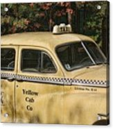 Big Yellow Taxi Acrylic Print