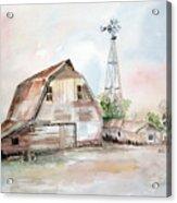 Bigelow's Barn Acrylic Print