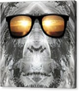 Bigfoot In Shades Acrylic Print