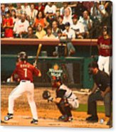 Biggio At Bat Houston Astros Acrylic Print