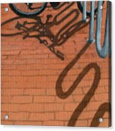 Bike And Bricks No.2 Acrylic Print