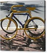 Bike And Rack Acrylic Print