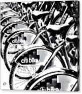 Bike Fleet Acrylic Print