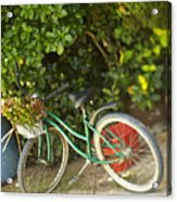 Bike In Maupiti Acrylic Print
