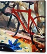 Bike In The Bedroom Acrylic Print